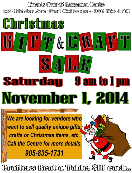 craft sale 2014