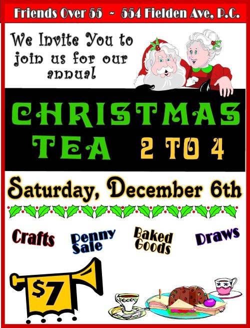 2014 christmas tea