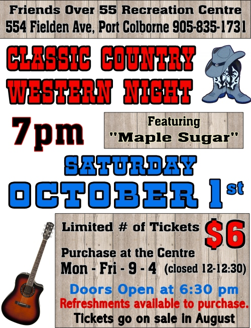 2016 Country night