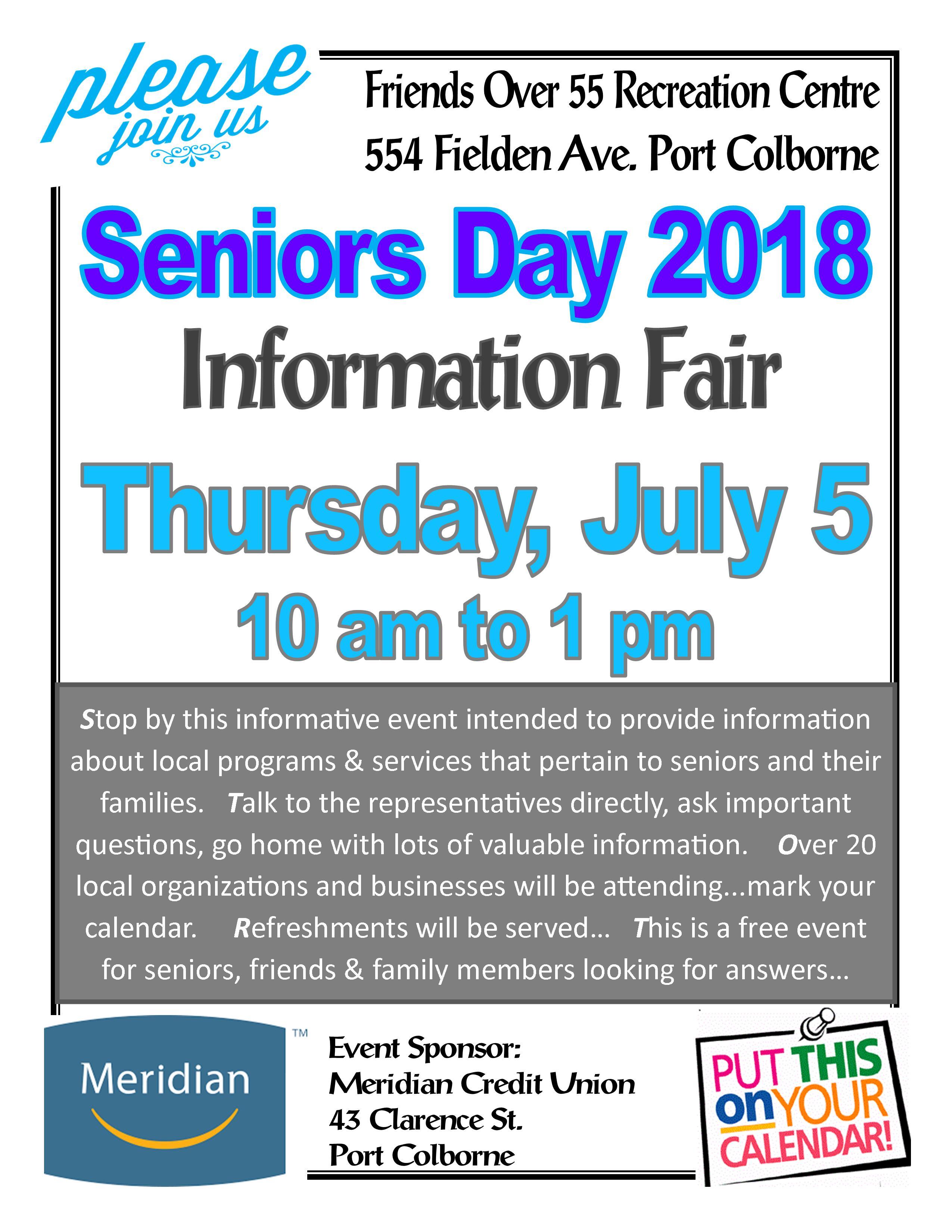 Free for seniors over 55