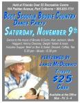 Nov 9 country showposter