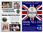 Abba British Invasion flyer
